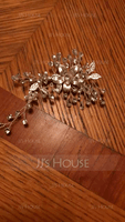 Beautiful Rhinestone/Alloy/Copper Hairpins With Rhinestone (Sold in single piece) (042235749)