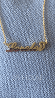 Custom Letter Carrie Name Necklace - Birthday Gifts Mother's Day Gifts (288211299)