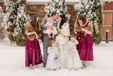 Faux Fur Wedding Shawl (013218354)