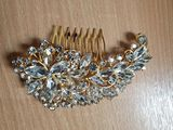 Alloy Combs & Barrettes With Rhinestone (Sold in single piece) (042133250)