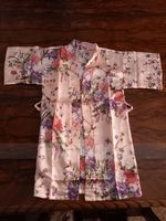 Non-personalized Charmeuse Flower Girl Floral Robes (248215851)