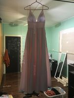V-neck Floor-Length Satin Prom Dresses With Pockets (272235723)