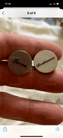 Personalized Formal Mens Stainless Steel Cufflinks (200235950)
