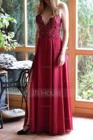 V-Neck Sleeveless Maxi Dresses (293250310)