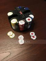 Personalized Resin Poker Chip (Set of 50) (118054922)