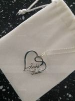 Custom Heart Two Name Necklace Heart Necklace - Birthday Gifts Mother's Day Gifts (288211311)