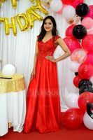 A-Line V-neck Floor-Length Satin Prom Dresses With Lace Sequins (018220254)