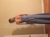 A-Line/Princess Cowl Neck Floor-Length Chiffon Bridesmaid Dress With Ruffle (007090197)