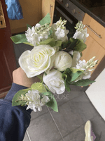 Round Bridesmaid Bouquets (Sold in a single piece) - (123133214)