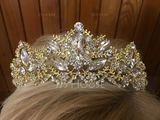 Charming Crystal/Rhinestone/Alloy Tiaras (Sold in single piece) (042207514)