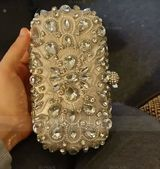 Delicate Polyester Clutches/Satchel/Bridal Purse/Evening Bags (012199352)