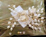 Ladies Elegant Alloy Hairpins With Venetian Pearl (Set of 3) (042156438)