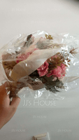 Hand-tied Satin Bridal Bouquets/Bridesmaid Bouquets - (123123107)