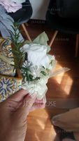 Hand-tied Silk Flower Boutonniere (Sold in a single piece) - (123200393)