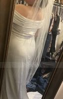 Two-tier Waltz Bridal Veils With Cut Edge (006035734)