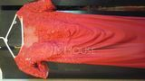 Sheath/Column Scoop Neck Floor-Length Lace Jersey Mother of the Bride Dress With Beading Sequins (008152150)