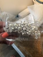 Glamourous Alloy/Silver Plated Combs & Barrettes (042073667)