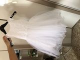 Ball Gown Knee-length Flower Girl Dress - Satin/Tulle/Lace Sleeveless Scoop Neck With Bow(s) (010094093)