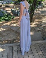 V-Neck Sleeveless Maxi Dresses (293250414)