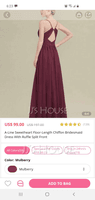 A-Line Sweetheart Floor-Length Chiffon Prom Dresses With Ruffle Split Front (272177479)