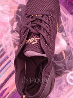 Women's Fabric Sneakers Sneakers With Lace-up Dance Shoes (053106471)
