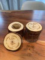 """Personlig rustikk"" Wood Ring Boks (103224809)"