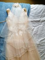 One-tier Fingertip Bridal Veils With Scalloped Edge (006037906)