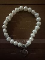 Personalized Child's Personalized Pearl Bracelets For Bridesmaid/For Friends (011054904)