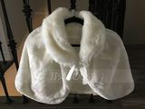 Faux Fur Wedding Shawl (013224120)