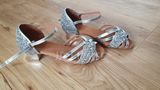 Women's Leatherette Sparkling Glitter Latin Dance Shoes (053132802)
