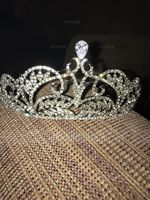Glamourous Rhinestone/Alloy/Zircon Tiaras (Sold in single piece) (042207512)