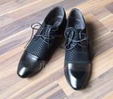 Men's Microfiber Leather Flats Latin Modern Dance Shoes (053170209)