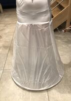 Women Lycra Floor-length 1 Tier  Petticoats (037058638)