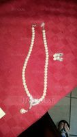 Hottest Alloy With Pearl/Rhinestone Jewelry Sets (011019402)