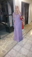 Trumpet/Mermaid Sweetheart Floor-Length Chiffon Mother of the Bride Dress With Ruffle Cascading Ruffles (267196462)