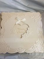 Heart Style Top Fold Invitation Cards With Ribbons (Set of 50) (114032365)
