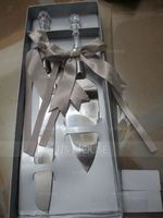 Personalized Simple Design Stainless Steel Serving Sets With Bow (118028946)