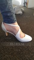 Women's Silk Like Satin Stiletto Heel Closed Toe Pumps (273182360)
