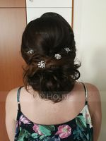 Ladies Beautiful Alloy Hairpins (Set of 6) (042123788)