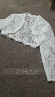 3/4-Length Sleeve Lace Special Occasion Wrap (013018680)