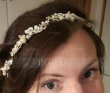 Ladies Beautiful Rhinestone/Alloy/Imitation Pearls Headbands With Rhinestone/Venetian Pearl (042138711)