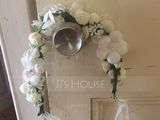 Lovely Artificial Silk Flowers & Feathers (042026530)