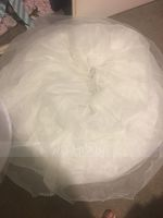 Women Nylon Floor-length 3 Tiers Petticoats (037116468)