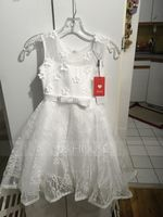 A-Line/Princess Knee-length Flower Girl Dress - Satin/Lace Sleeveless Scoop Neck With Beading/Flower(s)/Bow(s) (010092670)