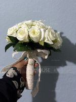 Hand-tied Satin Bridal Bouquets/Bridesmaid Bouquets - (123123111)