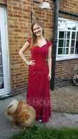Sweetheart Floor-Length Chiffon Mother of the Bride Dress With Ruffle Lace Beading Sequins (267196328)