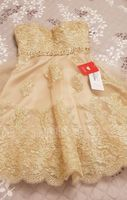 A-Line Sweetheart Knee-Length Tulle Lace Homecoming Dress With Beading Sequins (022124877)