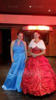 Ball-Gown Strapless Floor-Length Taffeta Quinceanera Dress With Embroidered Ruffle Beading (021020887)