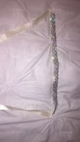 Nice Satin Sash With Rhinestones (015080741)