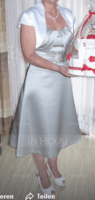 Half-Sleeve Satin Special Occasion Wrap (013012283)